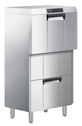 Smeg FD516DAUS Special Line Multi Purpose Fully Insulated Elevated Underbench Dishwasher