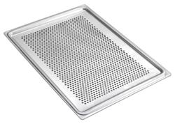 Smeg 3755 Flat Aluminium 435x320mm Tray (pack of 4) with Holes