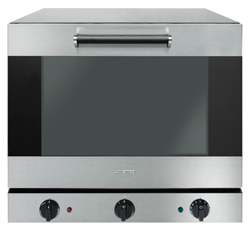 Smeg ALFA43GH 4 Tray 15A Humidified Convection Oven with Grill