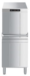 Smeg HTY505DHAUS Ecoline Passthrough Dishwasher with Steam Heat Recovery