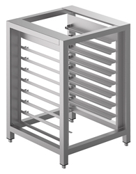 Smeg TVL40 Stainless Steel Oven Stand with Tray Supports