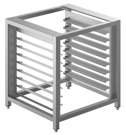 Smeg TVL425 Stainless Steel Oven Stand with Tray Supports
