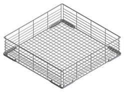Smeg WB40G01 400x400mm Flat-Bottomed Coated Wire Basket