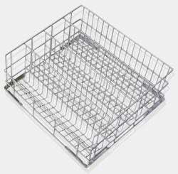 Smeg WB50G02 500x500mm Coated Wire Basket 90mm Dia Max Stem-Glass