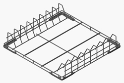 Smeg WB50T02 500x500mm Coated Wire Basket Trays/Baking Tins