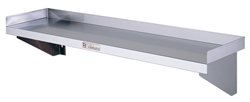 Simply Stainless SS10-0600 SS Wall Shelf