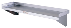 Simply Stainless SS10-1200 SS Wall Shelf