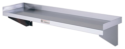 Simply Stainless SS10-1500 SS Wall Shelf