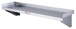 Simply Stainless SS10-2400 SS Wall Shelf