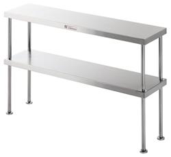 Simply Stainless SS13-1200 2 Tier Shelf