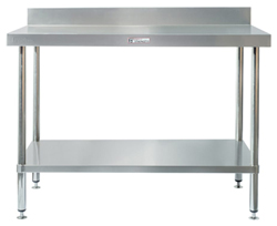 Simply Stainless SS02-0600 SS Bench - Splashback
