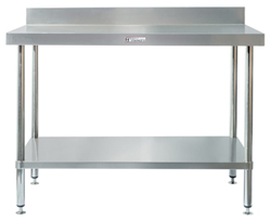 Simply Stainless SS02-0900 SS Bench - Splashback