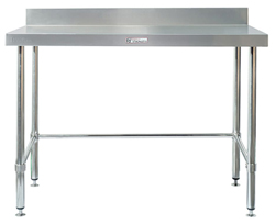 Simply Stainless SS02-0900LB SS Bench - Splashback