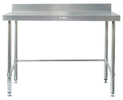 Simply Stainless SS02-1200LB SS Bench - Splashback
