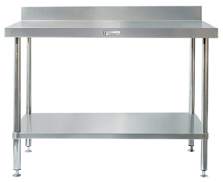 Simply Stainless SS02-1500 SS Bench - Splashback