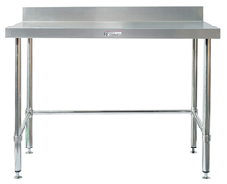 Simply Stainless SS02-1500LB SS Bench - Splashback