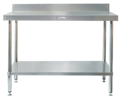 Simply Stainless SS02-7-0450 SS Bench - Splashback
