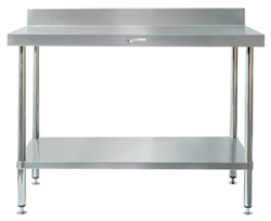 Simply Stainless SS02-7-0900 SS Bench - Splashback
