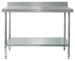 Simply Stainless SS02-7-2100 SS Bench - Splashback