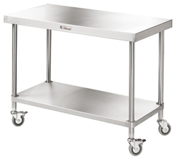 Simply Stainless SS03-0900 SS Mobile Bench