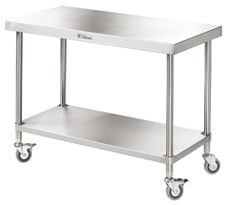 Simply Stainless SS03-1200 SS Mobile Bench