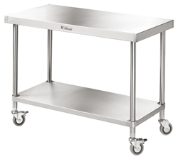 Simply Stainless SS03-1800 SS Mobile Bench