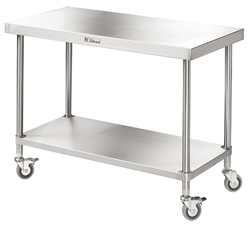 Simply Stainless SS03-2100 SS Mobile Bench