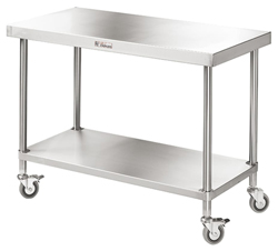 Simply Stainless SS03-7-0900 SS Mobile Bench