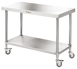 Simply Stainless SS03-7-1200 SS Mobile Bench