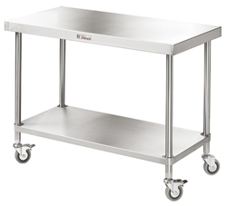 Simply Stainless SS03-7-2100 SS Mobile Bench