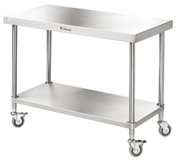 Simply Stainless SS03-7-2400 SS Mobile Bench