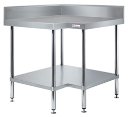 Simply Stainless SS04-900 SS Corner Bench