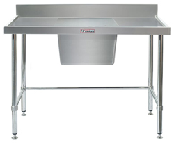 Simply Stainless SS05-1200LB Sink Bench