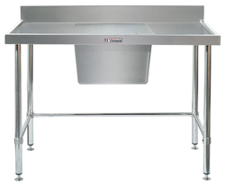 Simply Stainless SS05-1800LB Sink Bench