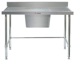 Simply Stainless SS05-7-1200LB Sink Bench