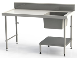 Simply Stainless SS05-7-1500-DW Under Counter Dishwasher Sink Bench