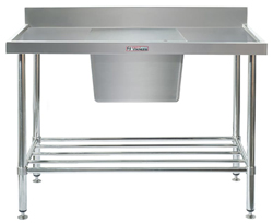 Simply Stainless SS05-7-1500 Sink Bench