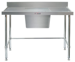 Simply Stainless SS05-7-1500LB Sink Bench