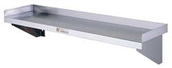 Simply Stainless SS10-1800 SS Wall Shelf