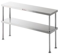Simply Stainless SS13-1800 2 Tier Shelf