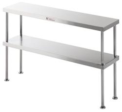 Simply Stainless SS13-2100 2 Tier Shelf