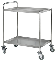 Simply Stainless SS14 SS 2 Tier Trolley