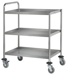 Simply Stainless SS15 SS 3 Tier Trolley