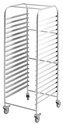 Simply Stainless SS16-2/1 SS GN Rack Trolley