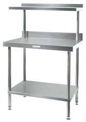 Simply Stainless SS18-7-0900 Salamander Bench