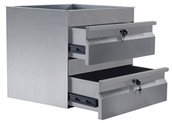 Simply Stainless SS19-0200 Double SS Drawer