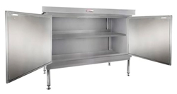Simply Stainless SS32-DPK-MS-0600 Door Panel Kit with Solid Mid Shelf