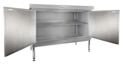 Simply Stainless SS32-DPK-MS-1200 Door Panel Kit with Solid Mid Shelf