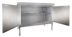 Simply Stainless SS32-DPK-MS-1800 Door Panel Kit with Solid Mid Shelf