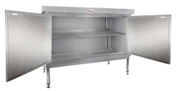 Simply Stainless SS32-DPK-MS-2400 Door Panel Kit with Solid Mid Shelf